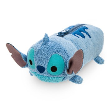 Back to School Supplies Disney Store Products Lilo and Stitch Tsum Tsum Plush Pencil Case