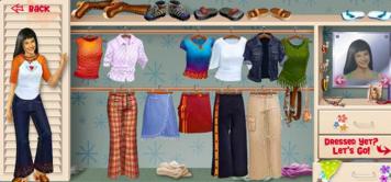 Disney Channel Online Game Lizzie McGuire Dress Up