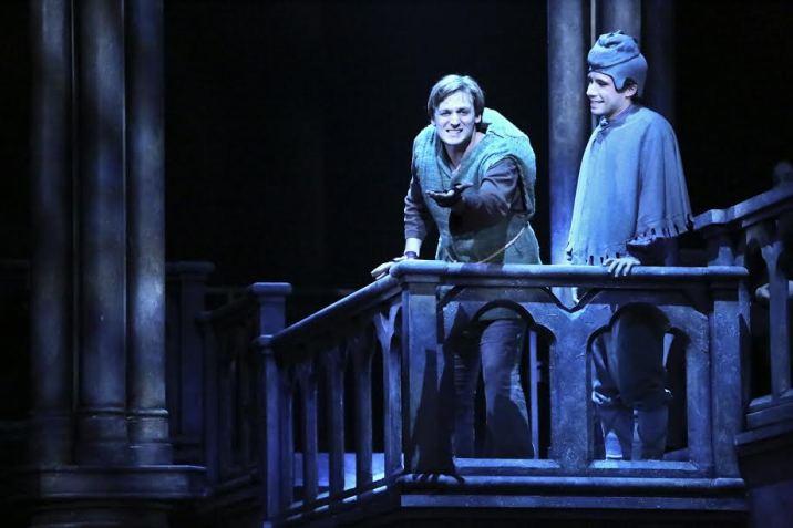 The Hunchback of Notre Dame La Mirada Theatre for the Performing Arts Quasimodo John McGinty Dino Nicandros