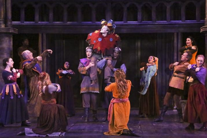 The Hunchback of Notre Dame La Mirada Theatre for the Performing Arts Feast of Fools Quasimodo King of Fools