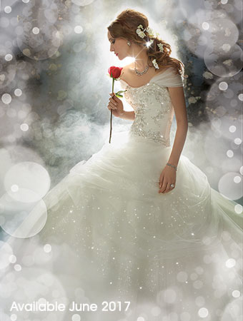 Belle Beauty And The Beast Rose Wedding Dress Alfred Angelo Spring