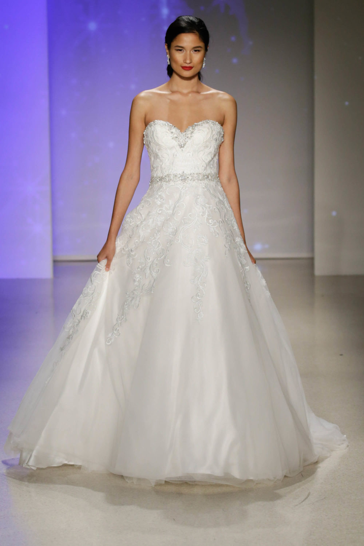 Cinderella wedding dress alfred angelo spring 2017 bridal for Alfred angelo cinderella wedding dress