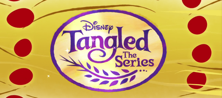 Tangled The Series 2D Animated Title Card Disney Channel