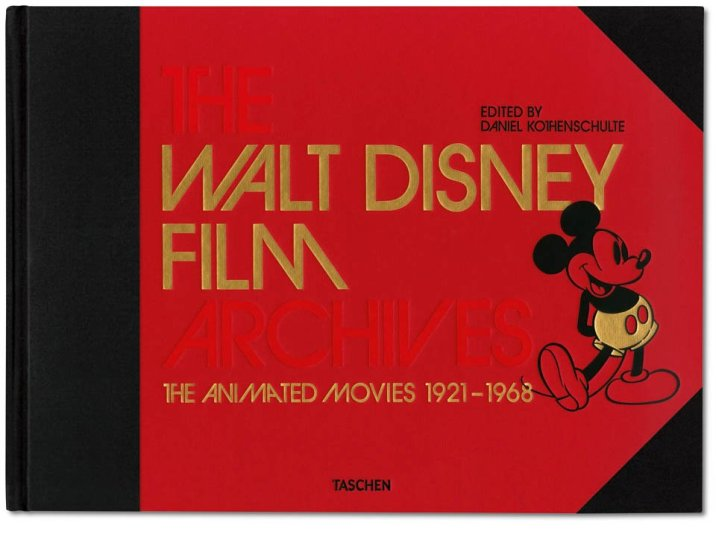 The Walt Disney Film Archives: The Animated Movies 1921 – 1968 TASCHEN Mickey Mouse Book Cover