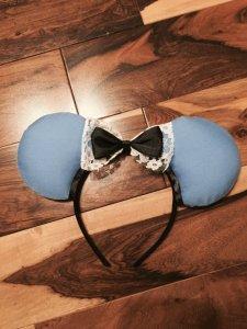 Alice in Wonderland Minnie Mouse Customizable Handmande DIY Ears Etsy TinkTreasEars