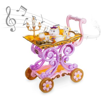 Disney Holiday Season Shopping Black Friday Gift Ideas 2016 Beauty and the Beast Be Our Guest Singing Tea Cart Play Set