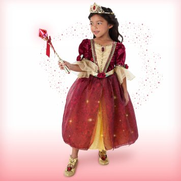 Disney Holiday Season Shopping Black Friday Gift Ideas 2016 Belle Interactive Deluxe Costume Set for Kids Beauty and the Beast