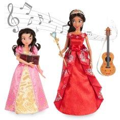 "Disney Holiday Season Shopping Black Friday Gift Ideas 2016 Elena of Avalor Deluxe Singing Doll Set 11"" with 10"" Isabel"