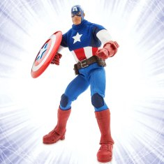 Disney Holiday Season Shopping Black Friday Gift Ideas 2016 Marvel Ultimate Series Captain America Premium Action Figure 11 1/2""