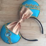 Jasmine Aladdin Minnie Mouse Customizable Handmande DIY Ears Etsy HappilyEarAfter