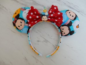 Tsum Tsum Minnie Mouse Customizable Handmande DIY Ears Etsy AnniesFairytaleBows