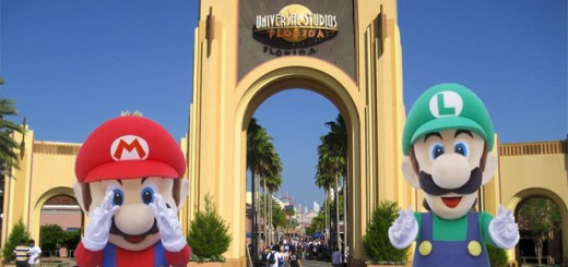 Universal Studios Nintendo Land Competition Disney