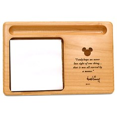 Mickey Mouse Memo Holder by Arribas - Personalizable Gift Ideas Grown Ups