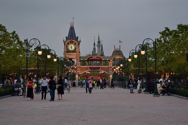 Shanghai Disneyland Park Main Entrance Entry