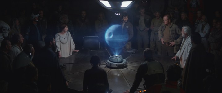 Star Wars Rogue One Review DisneyExaminer Mon Mothma Death Star