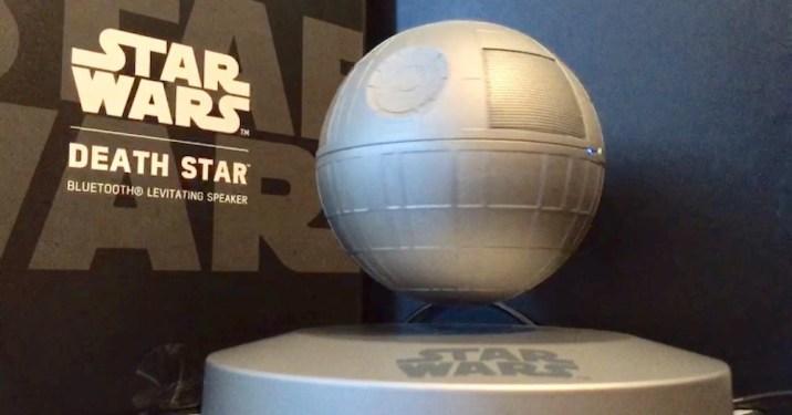 Star Wars Death Star Levitating Speaker 1