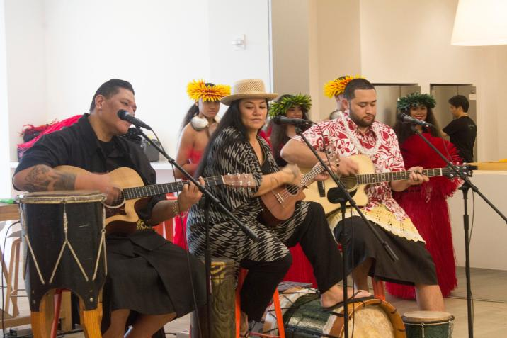 Moana Blu-ray special event features behind the scenes Walt Disney Studios Polynesian Singers
