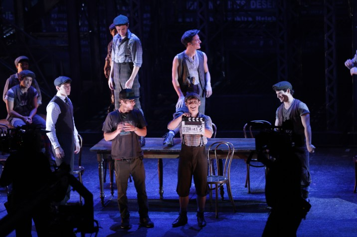 Newsies: The Broadway Musical Fathom Events Live Performance Filming Behind the Scenes