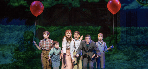 Finding Neverland Segerstrom Peter Pan Cast Photo