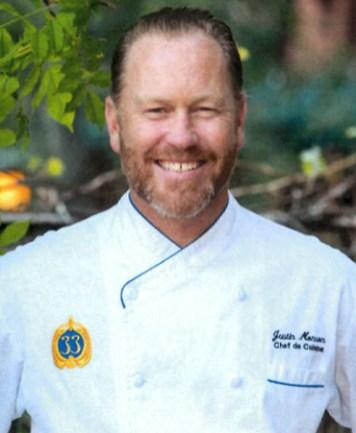Justin Monson Club 33 Chef OC Chef's Table Portrait