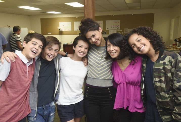 Andi Mack Behind the Scenes Cast