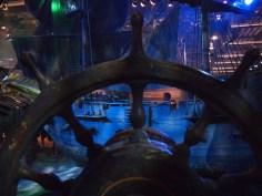 Walt Disney Archives Pavilion Pirates D23 Expo Ship Wheel
