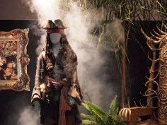 Walt Disney Archives Pavilion Pirates D23 Expo Jack Sparrow Costume