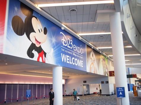 Disney D23 Expo 2017 Lobby Entrance Anaheim Convention Center