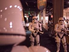 Stromtroopers Disney Parks Star Wars Pavilion D23 Expo 2017 DisneyExaminer