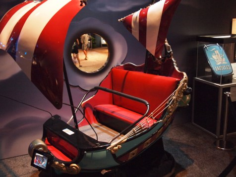 Walt Disney Archives Pavilion Pirates D23 Expo Peter Pan Adventure Ride Car Boat