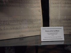 Walt Disney Archives Pavilion Pirates D23 Expo Yo Ho Sheet Music