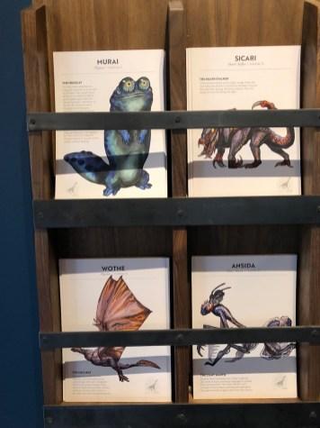 Dreamscape Immersive Alien Zoo Review DisneyExaminer Animal Cards