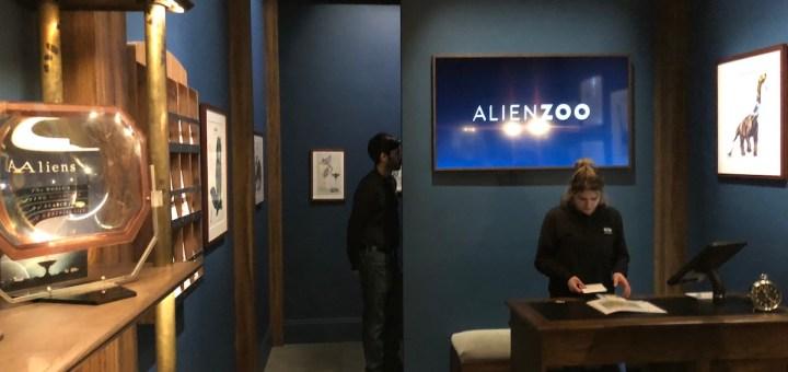 Dreamscape Immersive's Alien Zoo is a former Imagineer's
