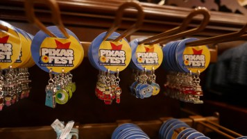 Pixar Fest Disneyland Merchandise Charms