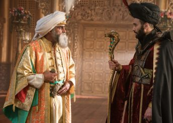 Navid Negahban is the Sultan and Marwan Kenzari is Jafar in Disney's live-action ALADDIN, directed by Guy Ritchie.