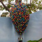 Castle Peak And Railroad Dave Sheegog Mini Disneyland Feature DisneyExaminer Pixar Up
