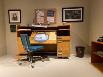 Walt Disney Archives Bowers Museum Preview DisneyExaminer Animators Desk