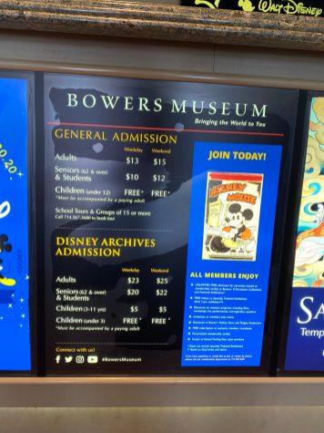 Walt Disney Archives Bowers Museum Preview DisneyExaminer Ticket Prices