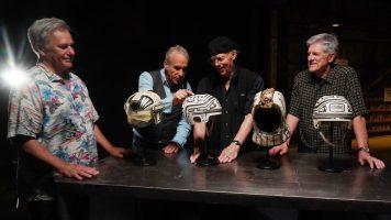 Prop Culture Disney+ Dan Lanigan DisneyExaminer Feature Tron Helmets