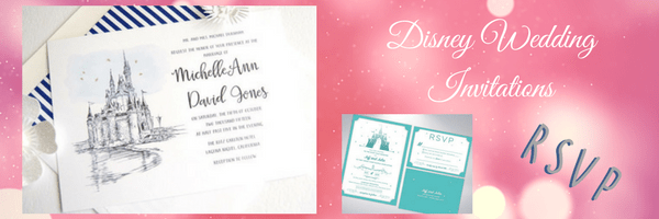 Disney Wedding Invitations – and They Lived Happily Ever After