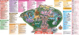 Mapa Disneyland