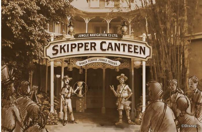 Skipper Canteen en Magic Kingdom