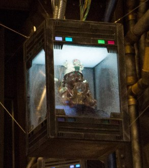 Guardians of the Galaxy – Mission: BREAKOUT! -- Final preparations are under way to open the Tivan Collection for the people of Terra (Earth). This mysterious collection features objects that The Collector has gathered from around the galaxy. Guests of Disney California Adventure can view this as part of Guardians of the Galaxy – Mission: BREAKOUT! attraction, opening May 27. (Scott Brinegar/Disneyland Resort)
