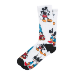 Disney x Vans Mickey Mouse's 90th Crew Sock $15.00USD
