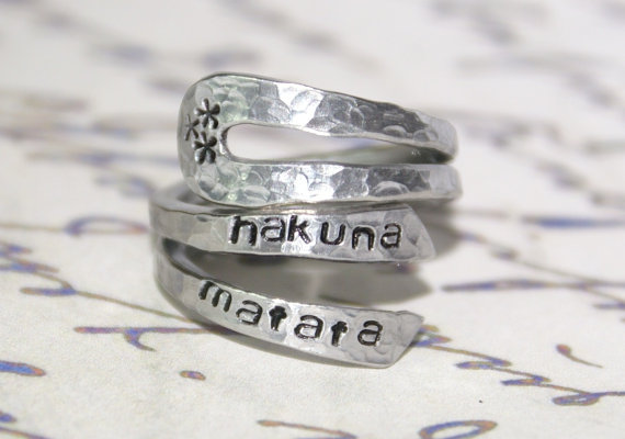 Youll Have No Worries With This Hakuna Matata Jewelry