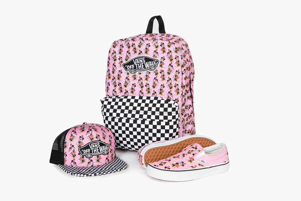 4255693cfa8 Customizable Minnie Mouse Vans Now Finally Available