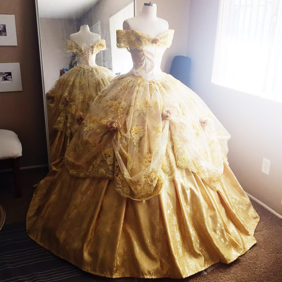 Disney Princess Inspired Gowns Fit For A Royal Ball