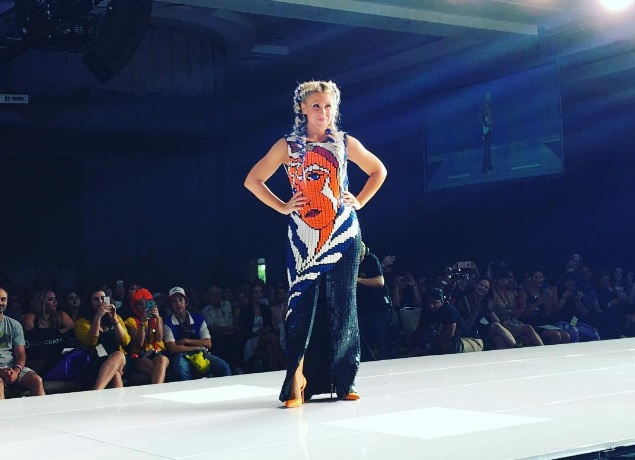 """a56bd783aa8 Her Universe """"Geek Couture"""" Fashion Show s Star Dress Is A Show Stopper!"""