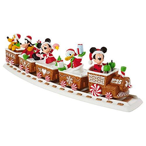 disney discovery disney express christmas train set