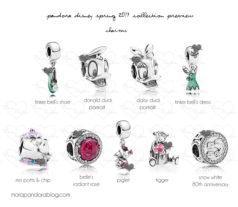 taking a closer look at the 2017 disney spring pandora collection due in march